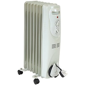 Bentley Portable Oil Filled Electric Radiator 1500w Heater